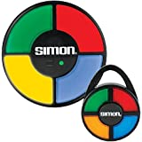 SIMON - The Electronic Memory Game & Hand Held Caribiner Gift Set (2 pack)