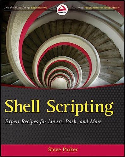 Amazon com: Shell Scripting: Expert Recipes for Linux, Bash