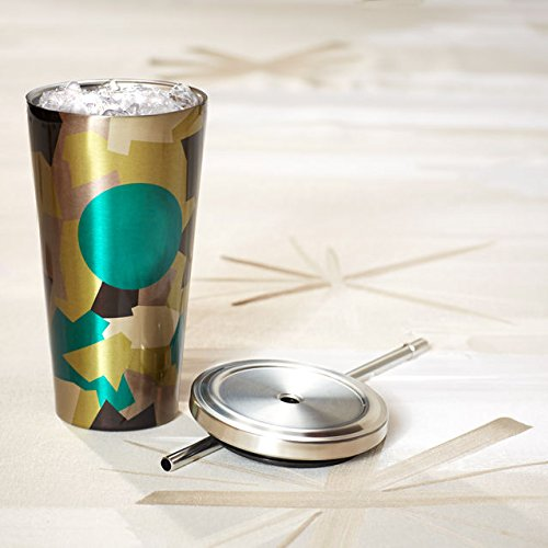 Starbucks Cold Cup Tumbler - Camo, 16 Fl Oz (Tea Ice Starbucks Green)