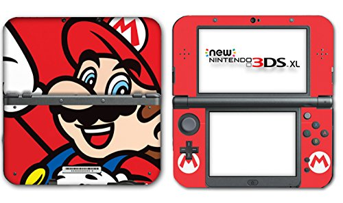 Bros Mario Lite Ds Nintendo New Super (New Super Mario Bros Special Edition Shell Video Game Vinyl Decal Skin Sticker Cover for the New Nintendo 3DS XL LL 2015 System Console)