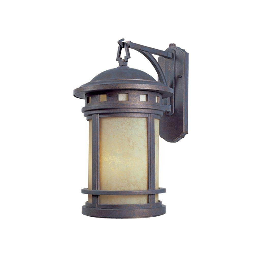 By Designers Fountain-Sedona Collection Oil Rubbed Bronze Finish 3 Light Outdoor
