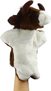Andux Marioneta de Felpa Linda Juguete de Peluche Suave (SO-36 Toro): Amazon.es: Juguetes y juegos