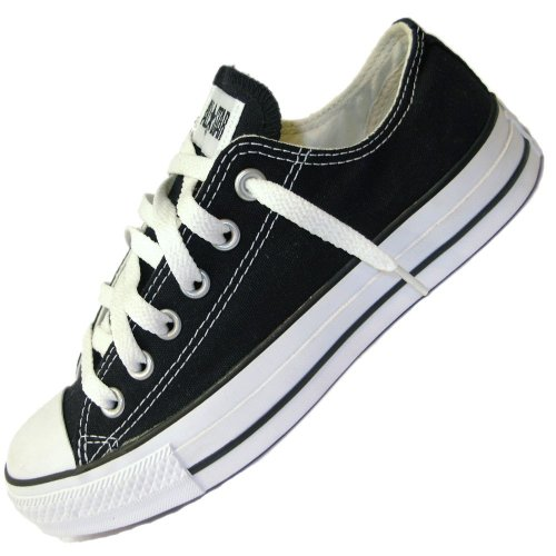 Seasonal Canvas Star OX Nero unisex Sneaker adulto Converse c1qUAfw8ax