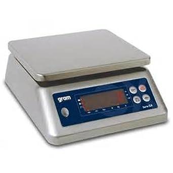 Balanza industrial Gram Precision modelo GX-6000 (6Kg/0,5g) dimensiones