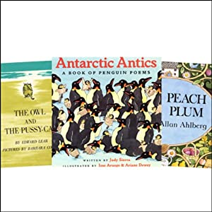 The Owl and the Pussycat, Antarctic Antics, Each Peach Pear Plum, & Over in the Meadow Audiobook