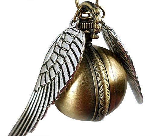 Steampunk-Pendant-Watch-Harry-Potter-Inspired-Golden-Snitch-Necklace-Timepiece-From-H-H-UK