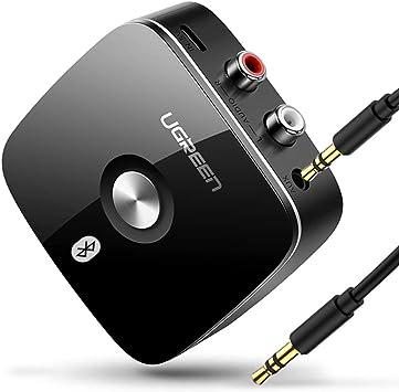 DZSF Receptor Bluetooth RCA 4.1 LL 3.5Mm Jack Adaptador inalámbrico Auxiliar Música para TV Coche RCA Bluetooth 4.1 3.5 Receptor de Audio: Amazon.es: Deportes y aire libre