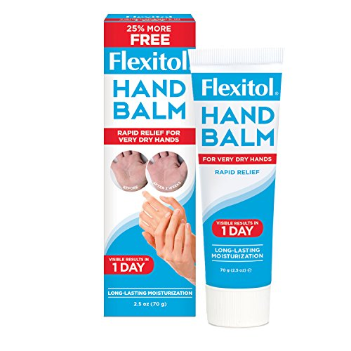 Flexitol Hand Balm 2.5 Ounce Tube (Pack of 2) Rich Moisturizing Hand Cream, Fast Relief of Very Dry or Chapped Skin, or Dryness Related to Eczema Psoriasis Dermatitis Xerosis Ichthyosis Hand Washing