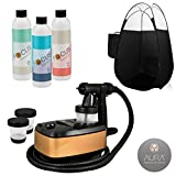 Aura Allure Spray Tan Machine Kit with Tanning Solution and Black Tent Review