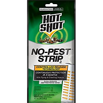 3 PACK HOT SHOT NO PEST STRIP, Units Per Package: 1