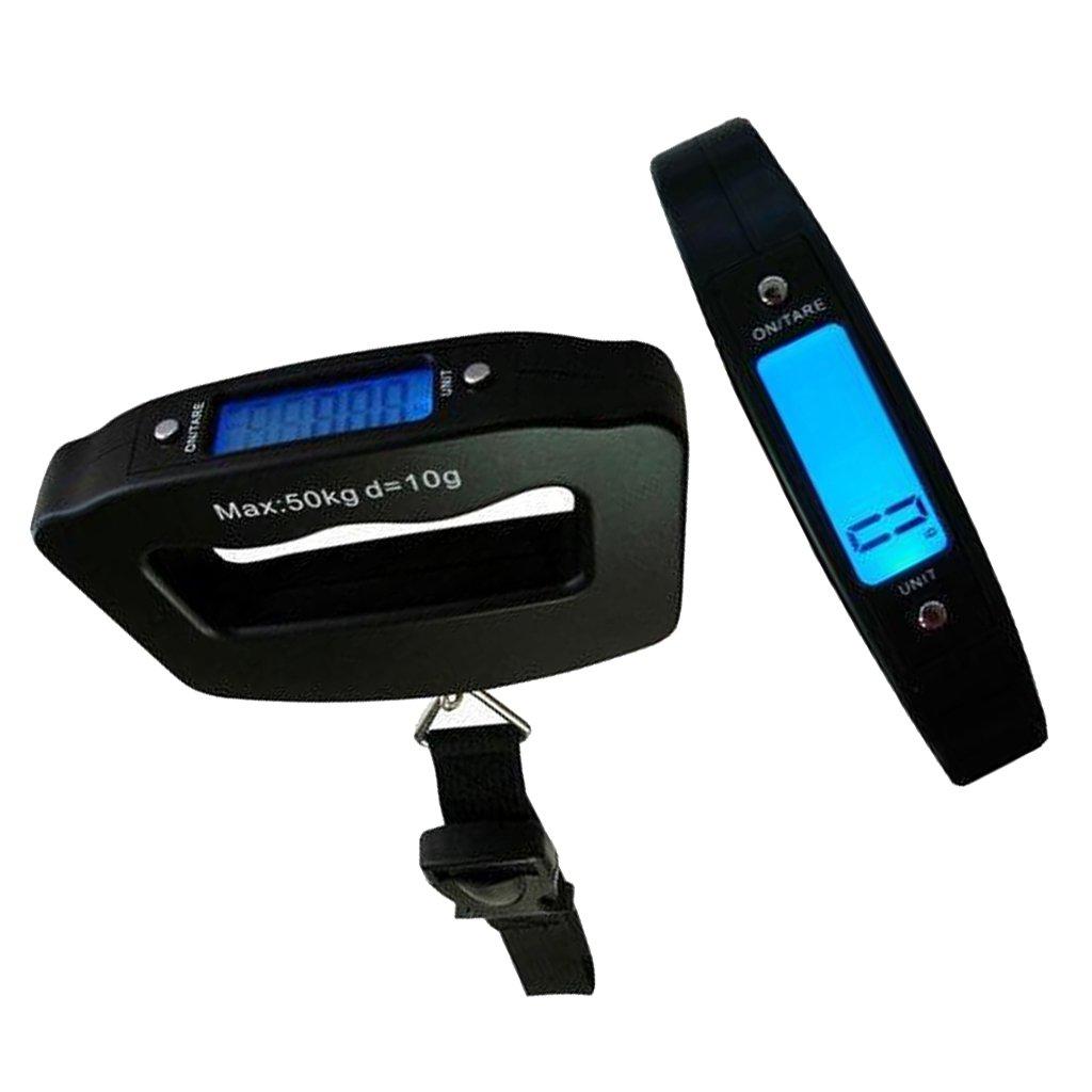 50KG Portable Handheld Digital Luggage Scale Weighing Travel Suitcase Scales Generic STK0157001934