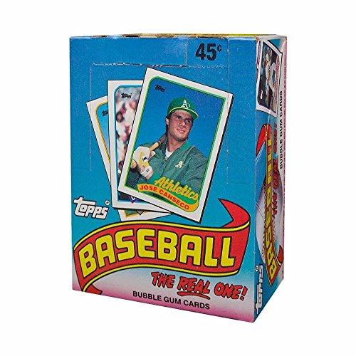 1989 Topps Baseball Wax Box