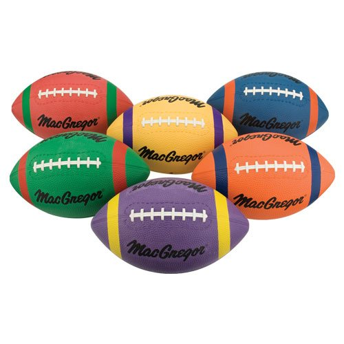 MacGregor Playrite Footballs - Set of 6 (Macgregor Youth Composite Football)