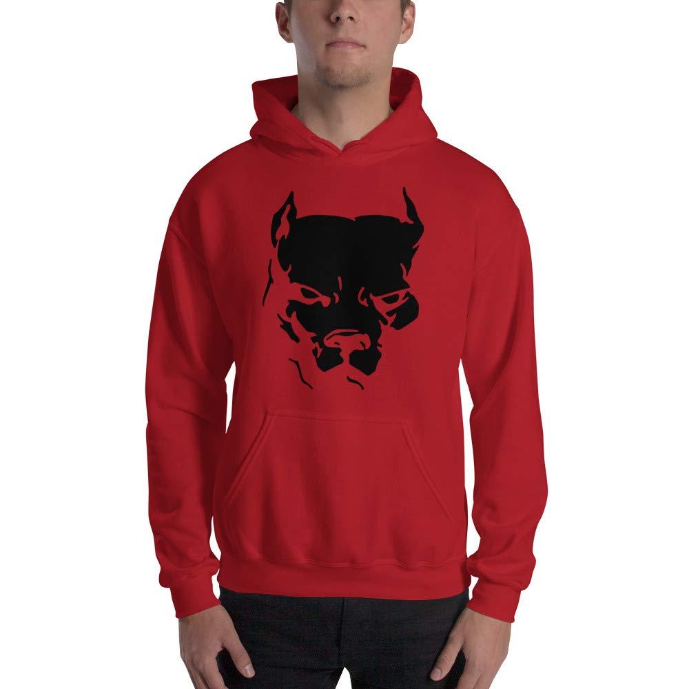 Pitbull Dog Custom Design Animal Graphic Hoodie Sweatshirt for Men Women