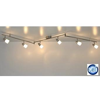 Led Deckenleuchte Lichtleiste 41409757 Mit 6x 5w G9 Led