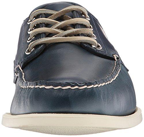 Dark Mens Oxford Sebago Leather Tan Leather Blue Campsides AOUqt