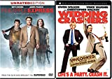 Unrated Comedy Collection - Wedding Crashers (Uncorked Widescreen Edition) & Pineapple Express (Unrated Edition) 2-Movie Bundle