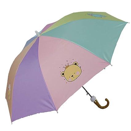 Gfbyq Paraguas para Niños, Jardín De Infantes, Niños Estudiantes Princesa Rain, Doble Uso