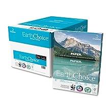 Domtar EarthChoice Copier Paper -For Laser, Inkjet Print -Letter -8.50-Inch x11-Inch -20 lb -5000/Carton -White
