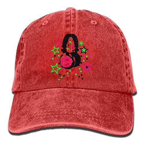 Mini béisbol Denim Headphone Como Hat Gorras Hat Adjustable Womens Star Soy Baseball Tu No 0USqPIP