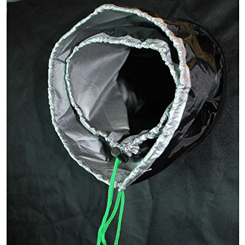 "51snb9pnshL - Matrix Horticulture 48""x48""x80"" Grow Tent Diamond Mylar 600D Hydroponic Growing Room Box for Indoor Plants Observation Window Arch Door D Design 4x4"