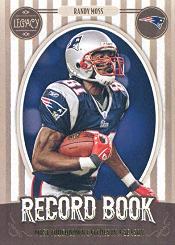 2019 Panini Legacy Record Book #26 Randy Moss New England Patriots NFL Football Trading Card