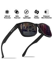 Mens Polarized Sunglasses - Momentum Memory Material...