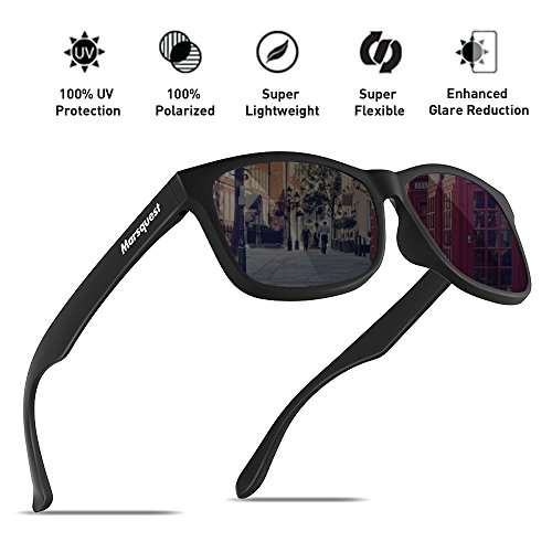 Mens Polarized Sunglasses - Momentum Memory Material Durable & - Best Polarized Sunglasses