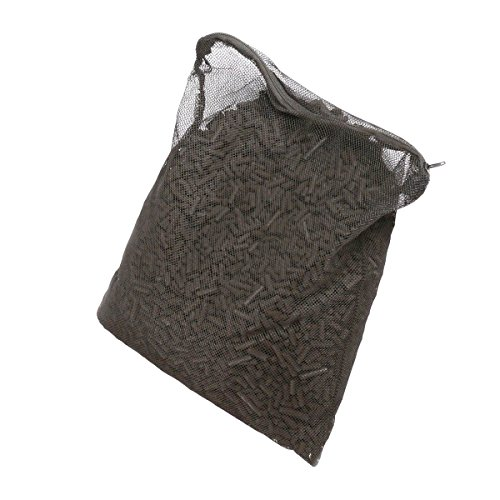55 Lbs Activated Carbon Charcoal in 11 Media Bags for Aquarium Fish Tank Koi Pond Filter (5lbs X 11) (Bentonite Clay Chunks)
