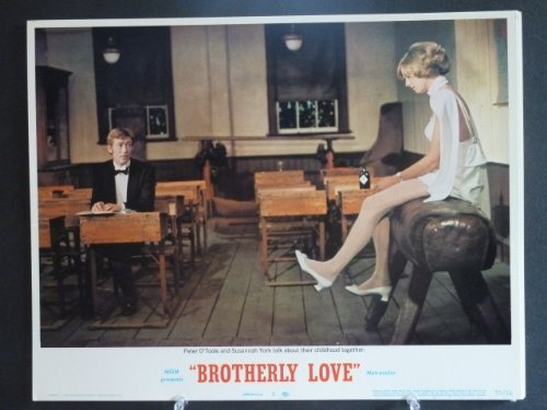 Lobby Card BROTHERLY LOVE #2 1970 Peter O'Toole/ Susannah York by Shadowland Collectibles