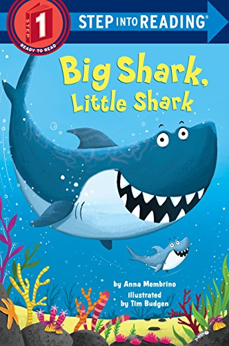 Big Shark, Little Shark (Step into Reading) (Drawing For Beginners Step By Step Easy)