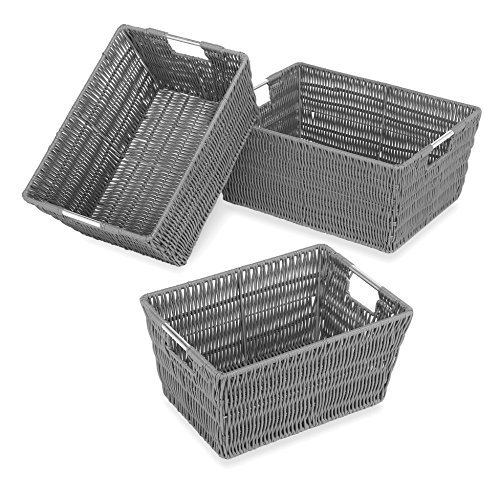 Whitmor Rattique Storage Baskets