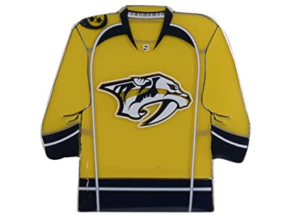 d101804a0 Image Unavailable. Image not available for. Color: Nashville Predators Lapel  Pin Team Jersey Design NHL Hockey Licensed