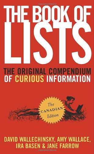 The Book of Lists: The Original Compendium of Curious Information