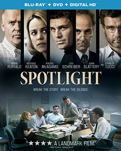 Blu-ray : Spotlight (Ultraviolet Digital Copy, Snap Case, Slipsleeve Packaging, 2 Pack, Digital Copy)