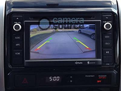 Camera Source 2010-2013 Plug & Play Toyota Tacoma Backup Camera Kit, PopNLock PL5400, for Factory Display Audio/Entune Radio from The Rear View Camera Center