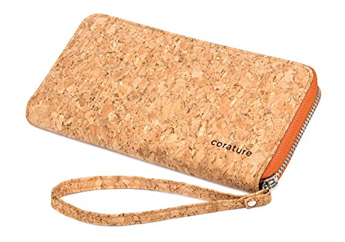 womens-clutch-wallet-wristlet-with-lanyard-made-from-eco-friendly-cork