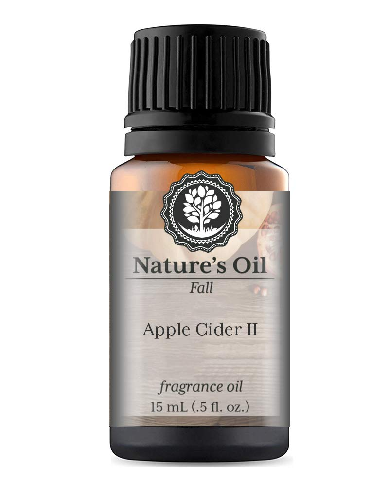 Apple Cider II Fragrance Oil (15ml) For Diffusers, Soap Making, Candles, Lotion, Home Scents, Linen Spray, Bath Bombs, Slime