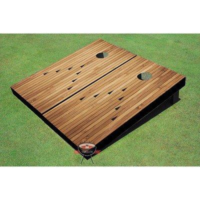[Bowling Alley Cornhole Board (Set of 2)] (Halloween Bean Bag Toss)