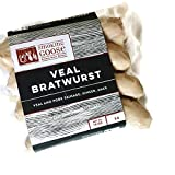Veal Bratwurst - Pasture Raised Pork & Veal Wurst - Smoking Goose - 4 Brats