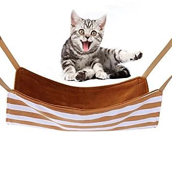 Elegante hamaca colgante para mascotas y gatos, cómoda cama de columpio, cama para dormir