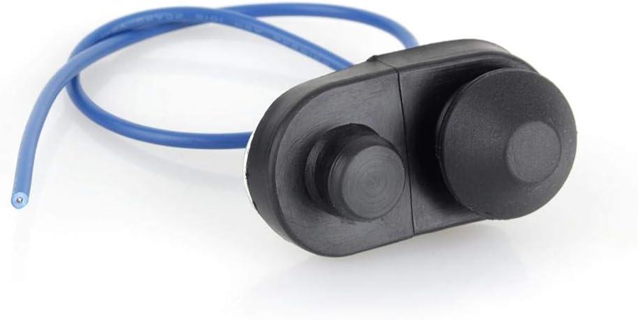 Interruptor de la luz de la puerta del automóvil, interruptor del pasador del capó del automóvil, interruptor de la jamba de la puerta con función de abrir y destellar automáticamente para identificar