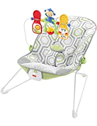 Fisher-Price Baby's Bouncer, Geo Meadow, One size BOBEBE Online Baby Store From New York to Miami and Los Angeles