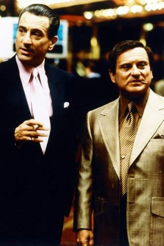 Casino 24X36 Poster Robert De Niro as Ace & Joe Pesci as Nicky two tough guys! from Silverscreen