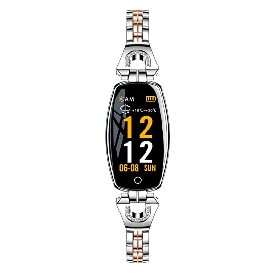 SZPZC Mujer Chica Cristal Reloj Elegante Podómetro Sport ...