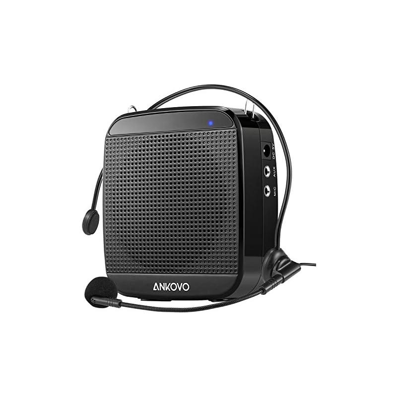 ANKOVO Portable Rechargeable Voice Ampli