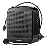 This ankovo 15W portable mini power voice amplifier is such a nice voice speaker where you can just do presentation with the wired headphone on you and everyone in the room will hear you loud and clear. It also supports TF card & U disk, which co...