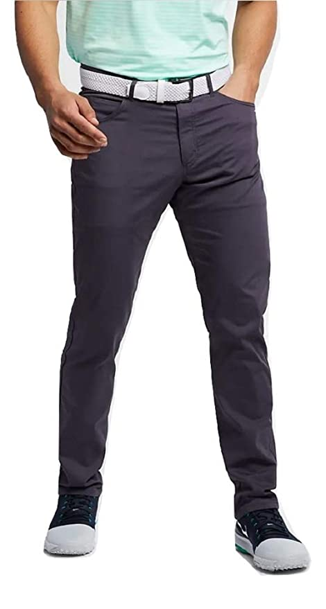 size 7 best sale world-wide free shipping Nike Flex Slim Fit 5-Pocket Gridiron/Wolf Grey Golf Pants Size 38X34