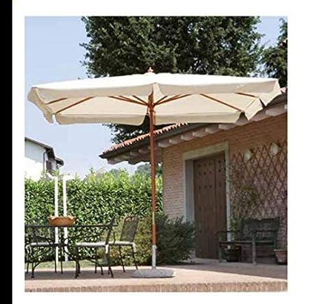 Gazebo Per Terrazze Foto.Bars Easyshop Ombrellone Da Giardino Palo Centrale In Legno