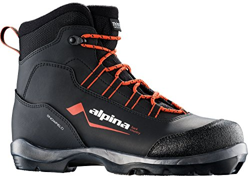 Alpina Sports Snowfield Backcountry Cross Country Nordic Touring Ski Boots, Euro 36, (Alpina Boots)